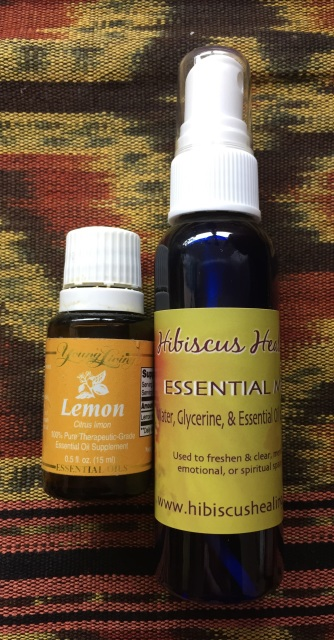 Essential Oils In A Mister Bottle