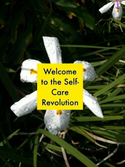Self-Care Revolution